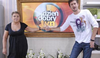 Marcin Prokop i Dorota Wellman w 2007 roku