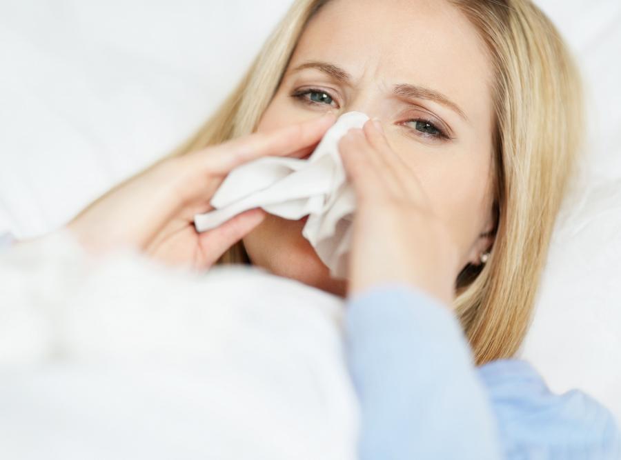 Nie każdej grypie towarzyszy katar