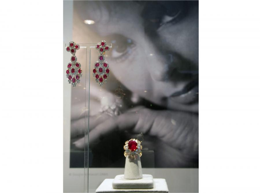 Biżuteria należąca do Elizabeth Taylor