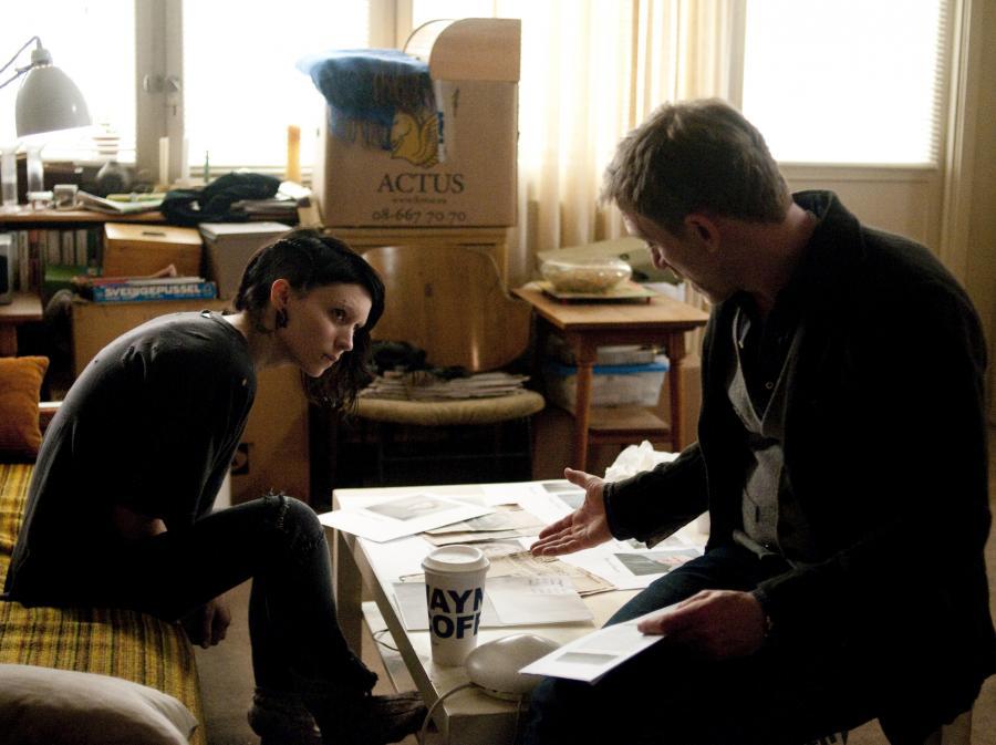 Daniel Craig i Rooney Mara w \