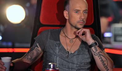 "Nergal w roli jurora ""The Voice of Poland"""