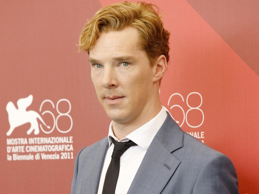 """Benedict Cumberbatch na weneckiej premierze """"Szpiega"""""""