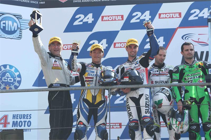 Suzuki ponownie liderem mistrzostw!
