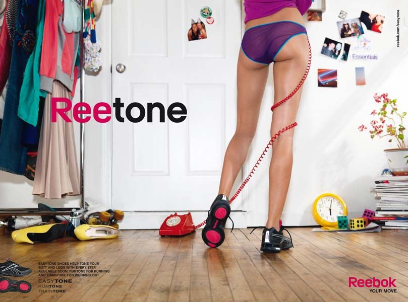 Plakat reklamowy Reebok