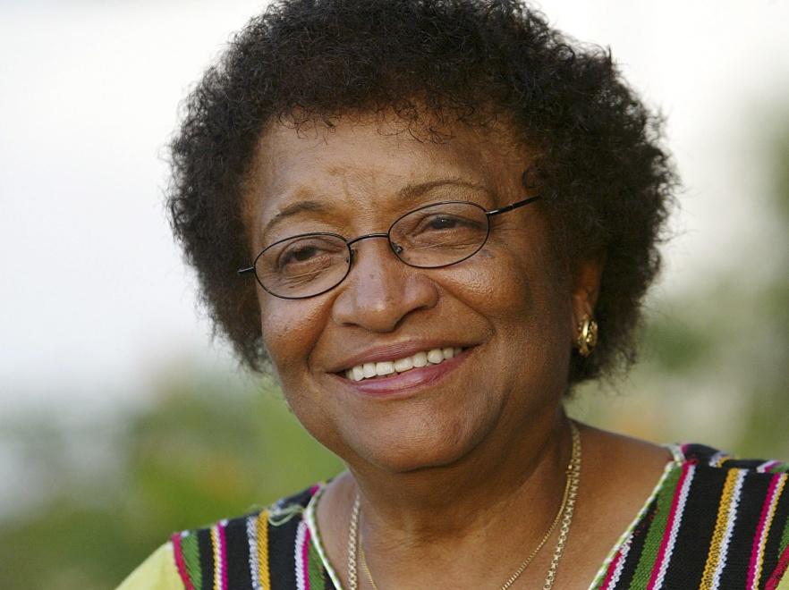 Ellen Johnson-Sirleaf - pierwsza kobieta prezydent w Afryce, laureatka pokojowej nagrody Nobla 2011.