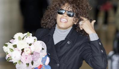 Whitney Houston awanturowała się w samolocie