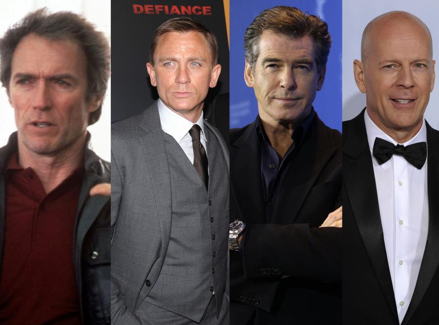 Coraz mniej mężczyzn w rodzaju Jamesa Bonda
