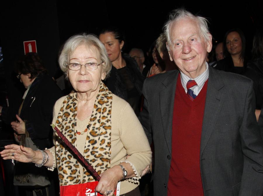 Lech Ordon z żoną