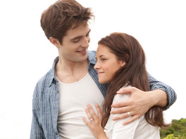"""1. Robert Pattinson i Kristen Stewart –""""Saga: Zmierzch"""""""