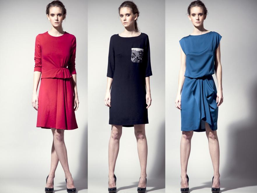 71274555c46611 Sukienki Langner Fashion: kolekcja wieczorowa, jesień/zima 2011/2012.
