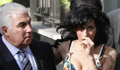Amy Winehouse i jej ojciec Mitch
