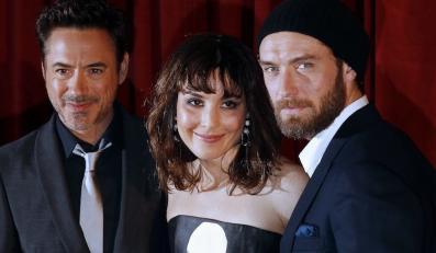 Robert Downey Jr., Noomi Rapace i Jude Law