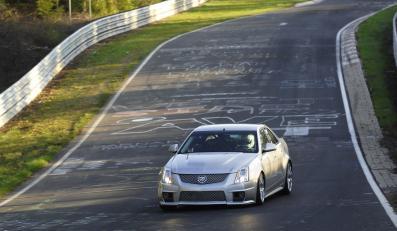 Cadillac szybszy niż BMW