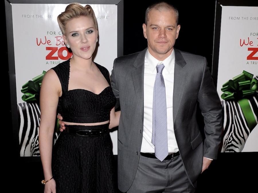 Matt Damon i Scarlett Johansson
