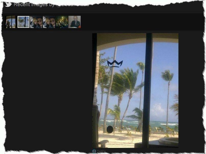 Widok z okna hotelu?