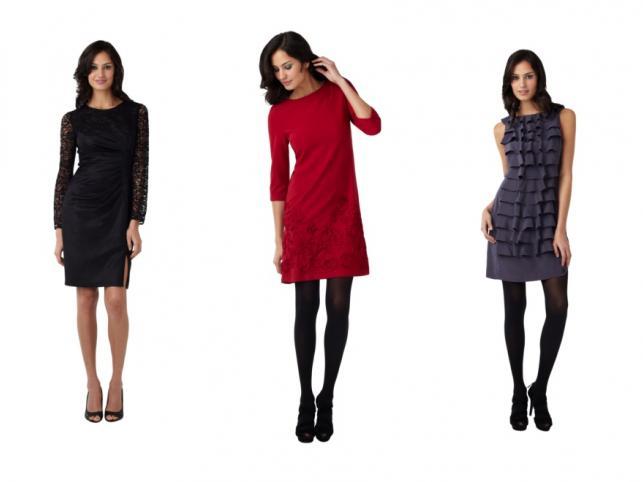 Modne sukienki na Święta 2011.