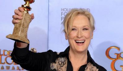 """Najlepsza aktorka w dramacie: Meryl Streep - """"Żelazna Dama"""""""