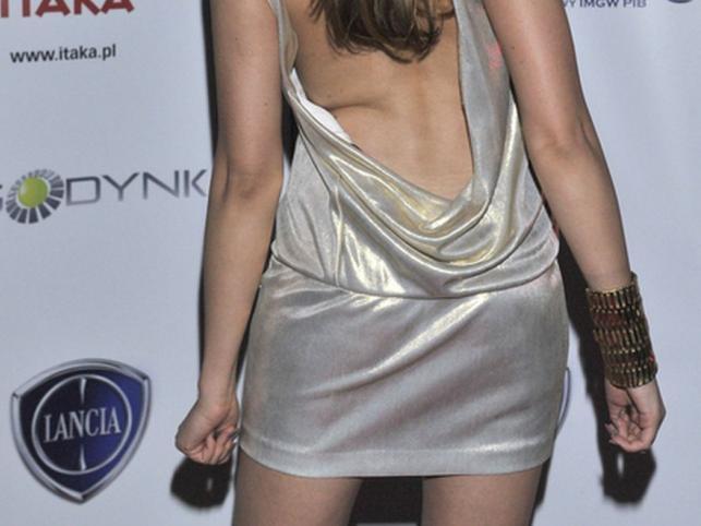 Dominika Gawęda na Gali Moda i Styl