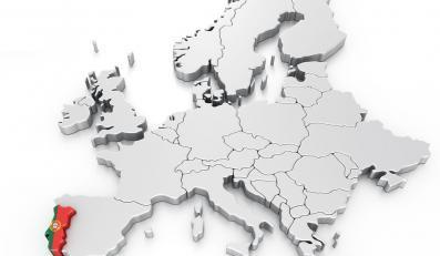 Mapa Europy, zdjęcie ilustracyjne