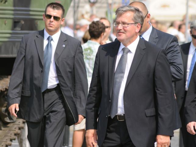 Prezydent Bronisław Komorowski - 11 proc.