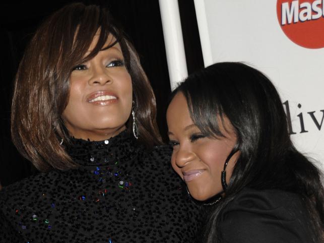 Whitney Houston i jej córka Bobbi Kristina