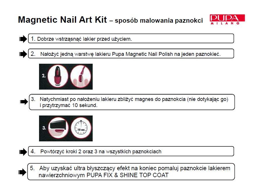 Pupa Magnetic Nail Polish
