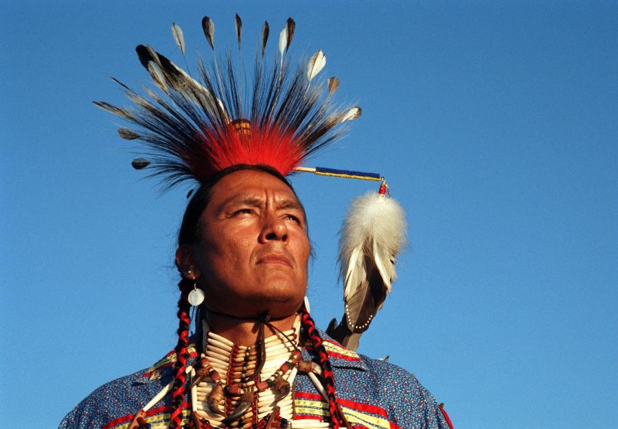 Indianin z terytorium Kanady