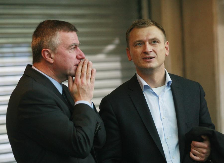 Sławomir Nitras i Paweł Graś