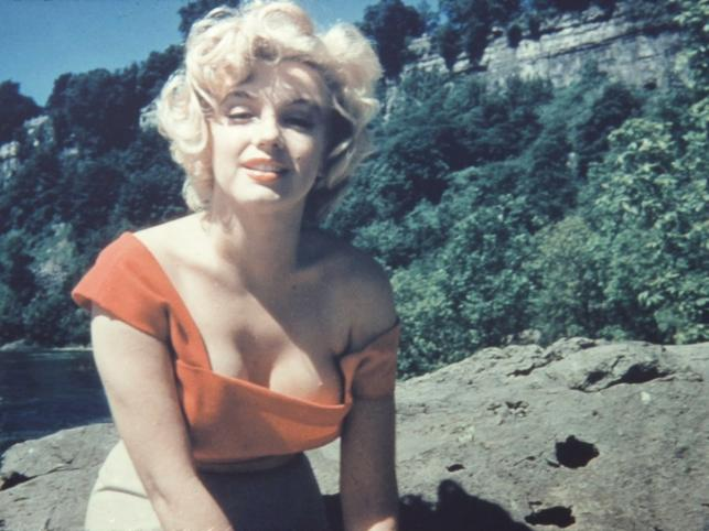 """Marilyn Monroe na planie """"Rzeki bez powrotu"""""""