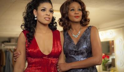 Whitney Houston i Jordin Sparks świętują