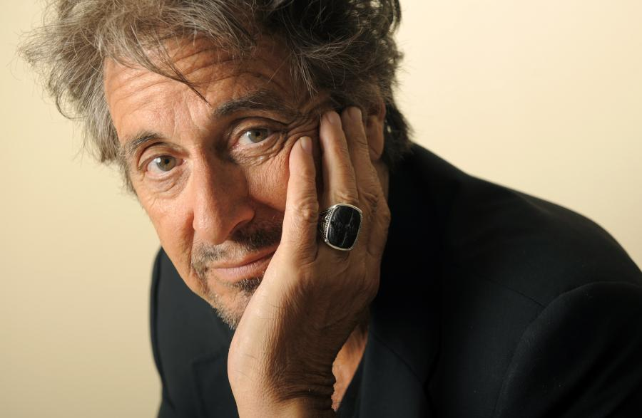 Al Pacino ranny na planie filmowym