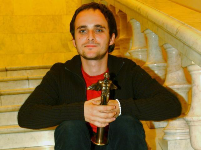 Artur Rojek z Fryderkiem 2001 za najlepszy album roku