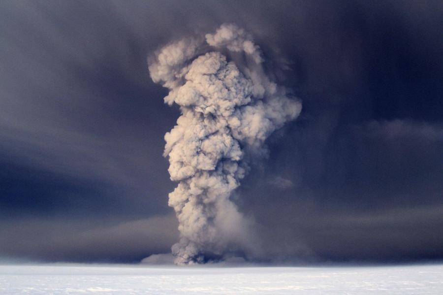 Grimsvotn - jeden z islandzkich wulkanów