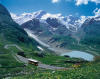 Na szczęście alpejskie autobusy wdrapują się wysoko