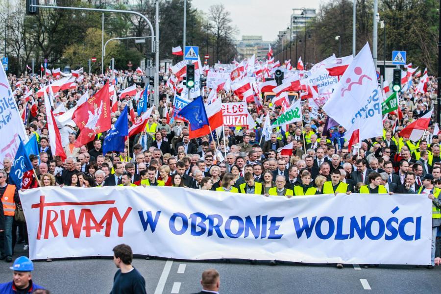 Marsz w obronie Telewizji Trwam
