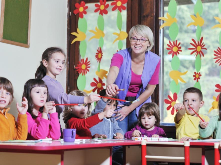 Dziec w przedszkolu - zdjęcie ilustracyjne