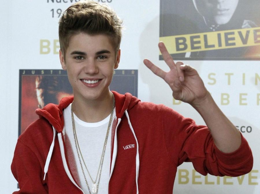 Justin Bieber promuje nowy album \