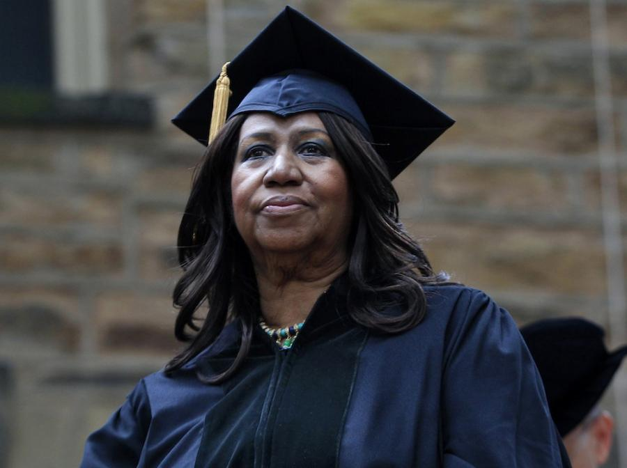 Aretha Franklin doktorem honoris causa