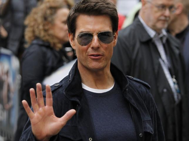"Tom Cruise na premierze ""Rock of Ages"""