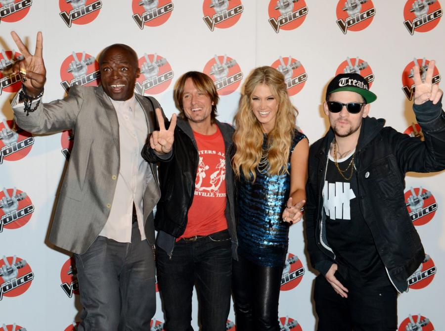 Seal, Keith Urban, Delta Goodrem, Joel Madden