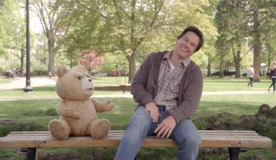 """Mark Wahlberg i jego przebojowy miś""""Ted"""""""