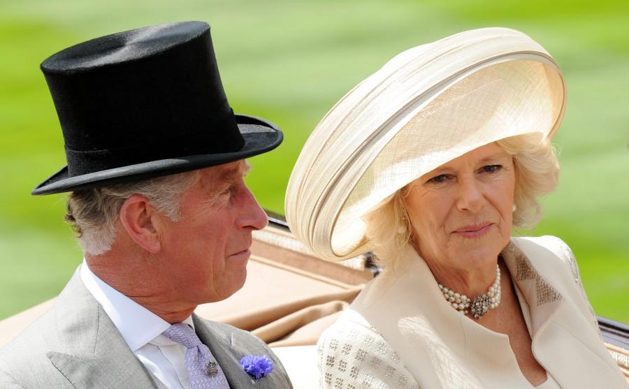 Książę Karol i księżna Camilla w Ascot