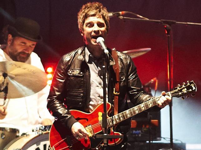 Noel Gallagher na koncercie w Gdańsku