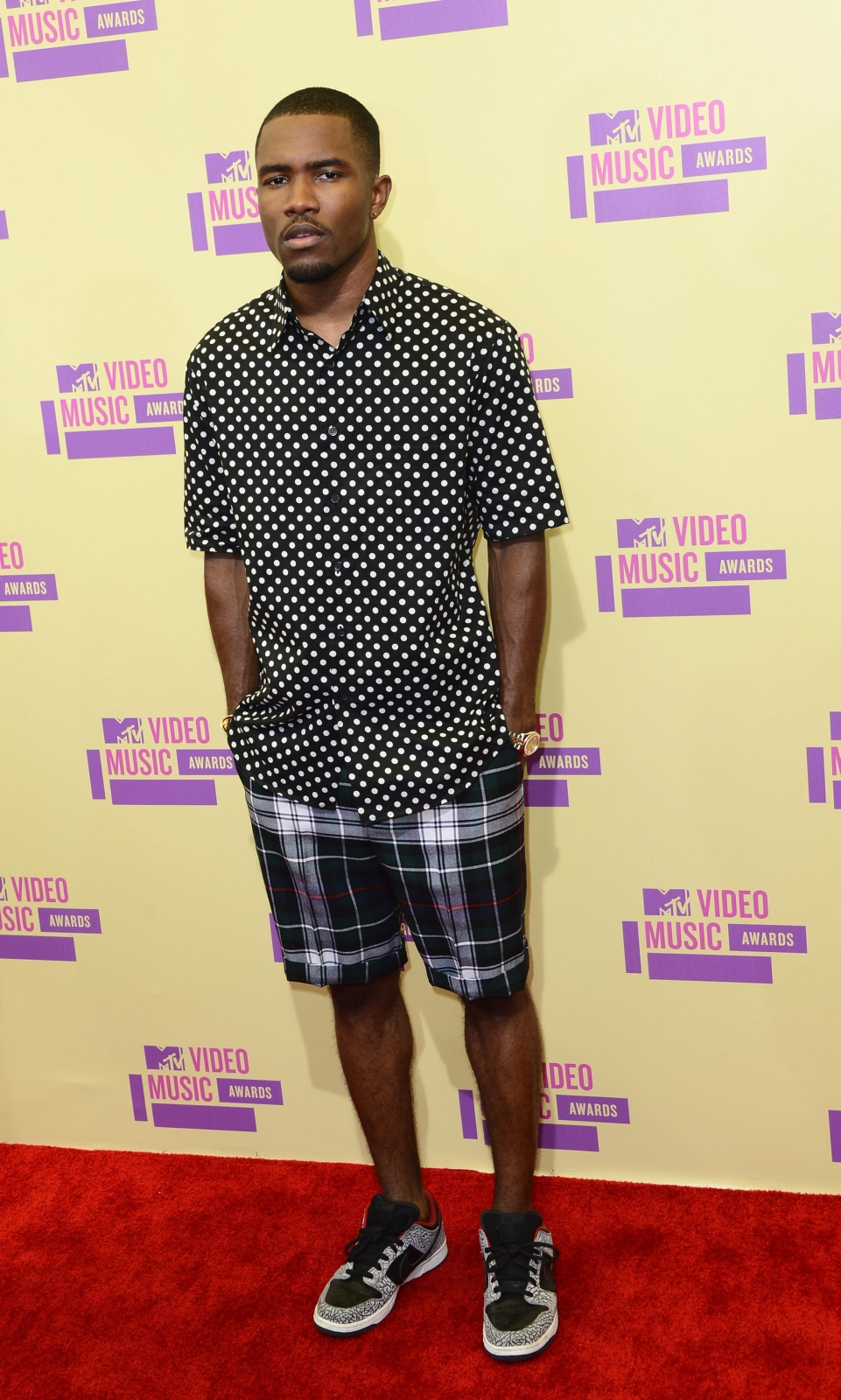 Frank Ocean na MTV Video Music Awards 2012