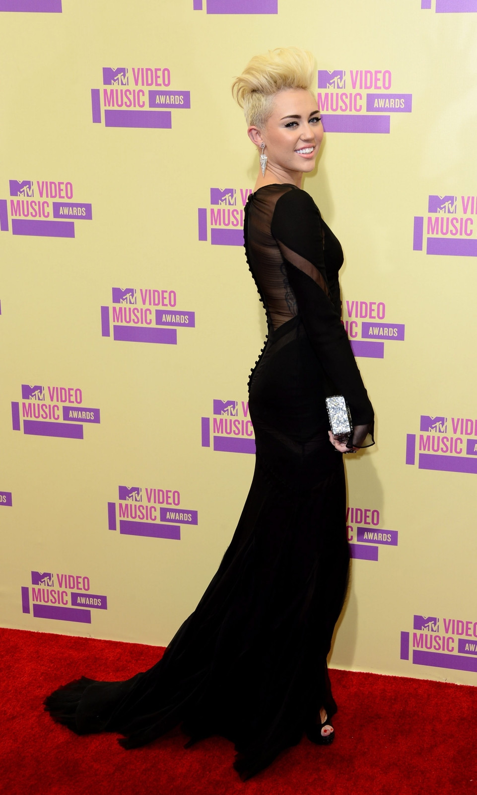 Miley Cyrus na MTV Video Music Awards 2012