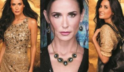 Demi Moore w kampanii wizerunkowej kosmetyków More by Demi Oriflame