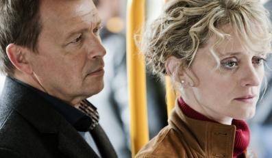 """Jan Frycz i Anne-Marie Duff w """"Sanctuary"""""""