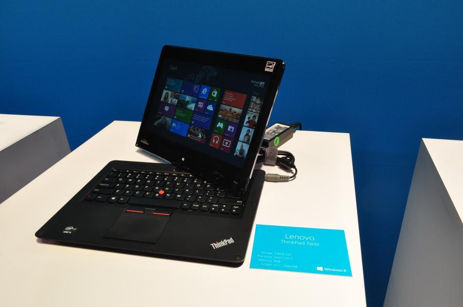 Obrotowy ekran Lenovo