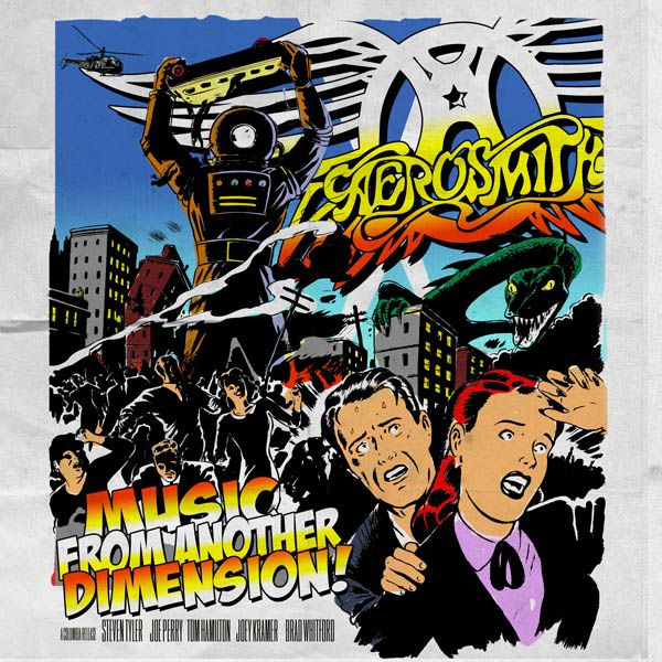 """Aerosmith """"Music From Another Dimension"""""""