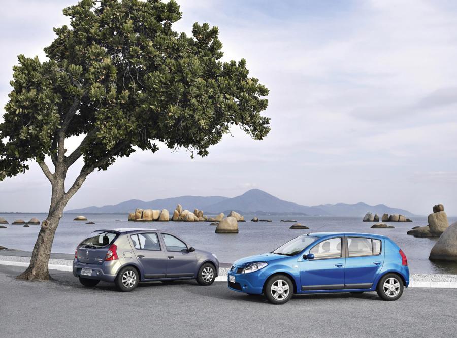 Renault wprowadza nowy model o nazwie sandero